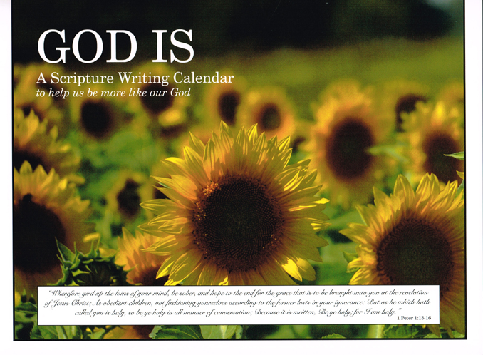 """God Is""  Daily Prayer Journal"