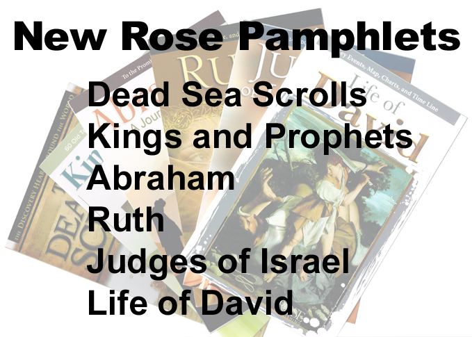 New Rose Pamphlet Titles