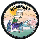 Books of the Bible Magnets - Genesis - Numbers
