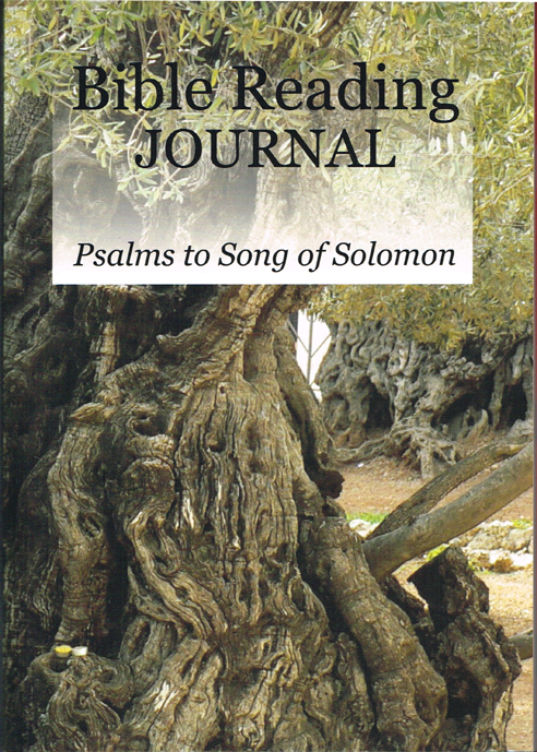 Bible Reading Journal Psalms to Song of Solomon