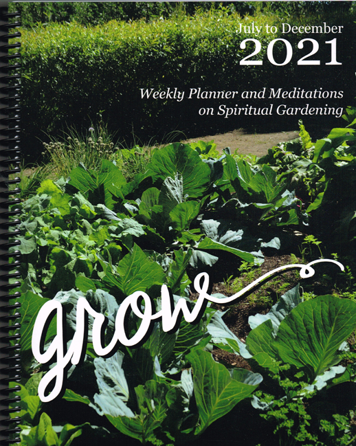 Grow Personal Planner  -  July to December 2021  - Ship 5 Calendars to Canada