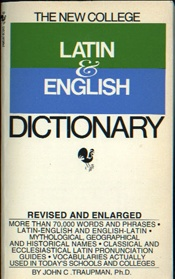 New College Latin & English Dictionary    USED