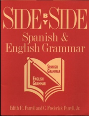 Side by Side Spanish & English Grammer   USED