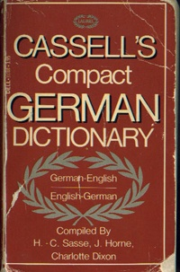 Cassell's Compact German/English Dictionary      USED