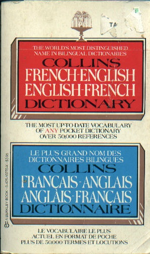 Collins French English Dictionary Used