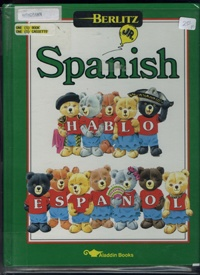 Berlitz Jr Spanish  Book and Audio Cassestte   USED