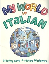 My World in Italian     USED