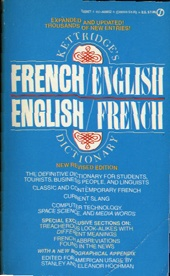 Kettridge's French English English French Dictionary    USED