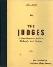 Judges, The - Deboarah and Gideon   USED