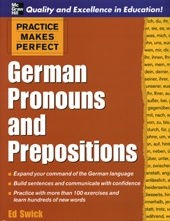 German Pronouns and Prepositions    USED