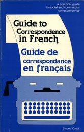 Guide to Correspondence in French    USED