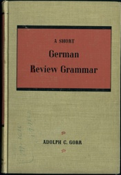 A Short German Review Grammer    USED