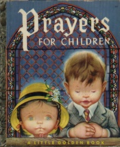 Prayers for Children, The Little Golden Book     USED