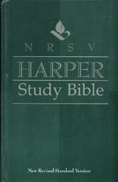 Harper Study Bible NRSV    USED
