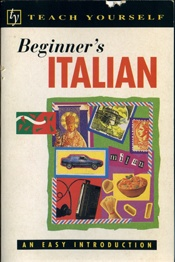 Beginner's Italian Teach Yourself   USED
