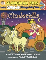 German 1  Cinderella Book and CD