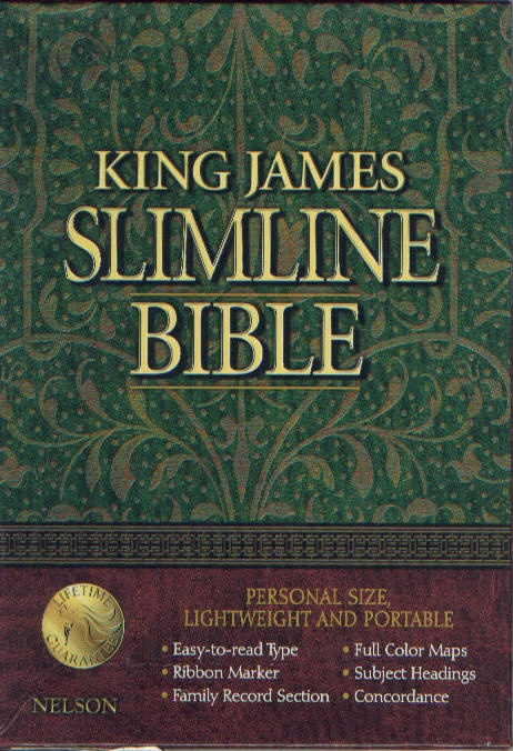 King James Slimline Print Bible