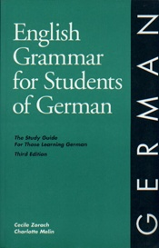 English Grammer for Students of German      USED