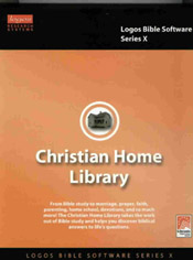 Christian Home Library Logos Series X Bible Software